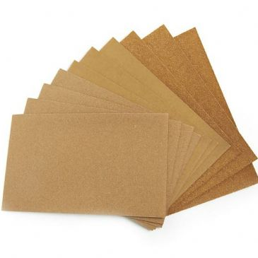 Ciret pack of 10 Sandpaper Assorted